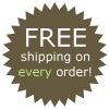 Free Shipping On Every Order