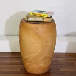Merlot Stand Stool-End Table