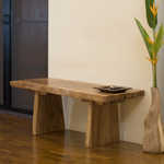 Natural Edge Bench