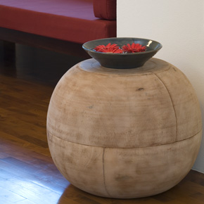 Mango Ball End Table