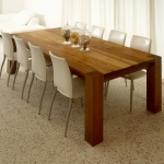 Rectangular Teak Dining Table