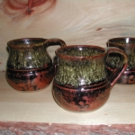 Temmoku Coffee Cup Set (4)